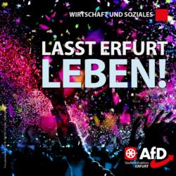 Lasst Erfurt leben